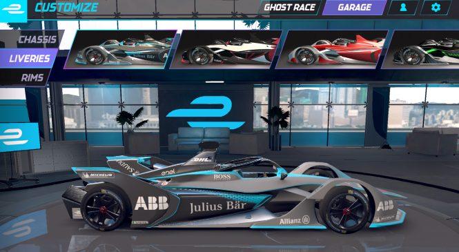 «Формула-Е» запустила игру, позволяющую соревноваться с гонщиками в реальном времени