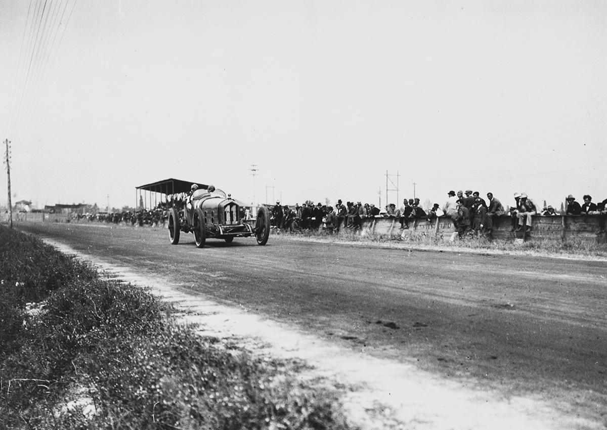 Жюль Гу во время БП Италии 1921 года