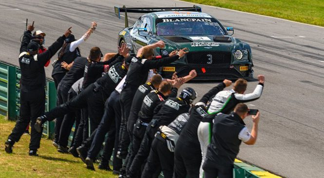 «Бентли» дважды победил на этапе американской серии «Бланпен ГТ» в Виргинии