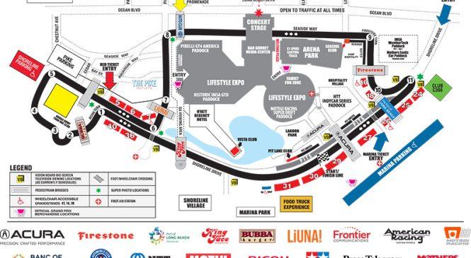 Райан Бриско за рулём «Форда ГТ40» рассказывает о специфике прохождения круга в Лонг-Бич