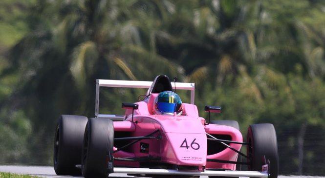 Озерецковская заняла 10-е и 11-е места на открытии сезона Ф4 Юго-Восточной Азии
