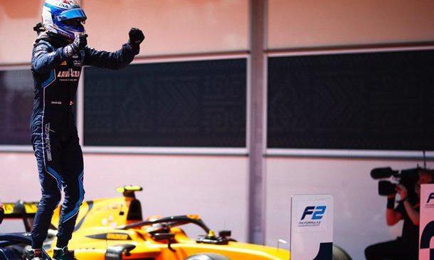 Николас Латифи выиграл спринтерскую гонку «Формулы-2» в Баку