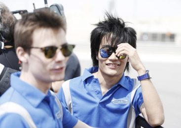 Мацусита выиграл квалификацию «Формулы-2» в Баку, Мазепин — 15-й