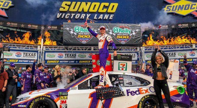 Дэнни Хэмлин выиграл гонку в Техасе