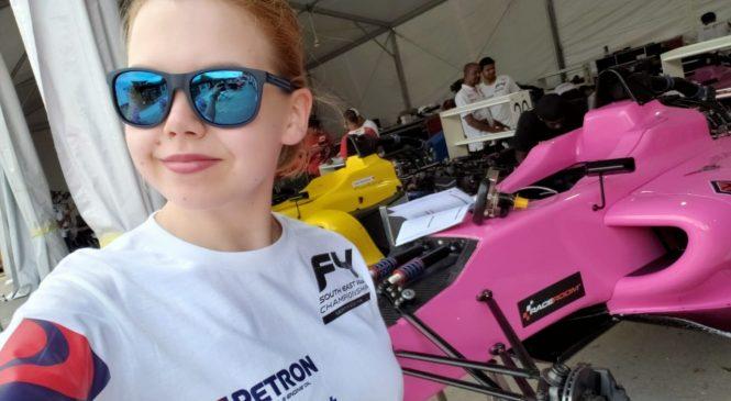 Любовь Озерецковская выступит в «Формуле-4» Юго-Восточной Азии
