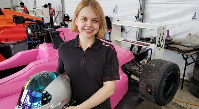 Озерецковская набрала очки в трёх из четырёх гонок первого этапа Ф4 Юго-Восточной Азии