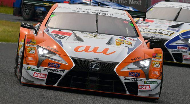 «Лексус» в доминирующем стиле выиграл гонку «Супер ГТ» в Судзуке