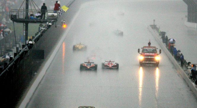 «Инди-500» и дождь