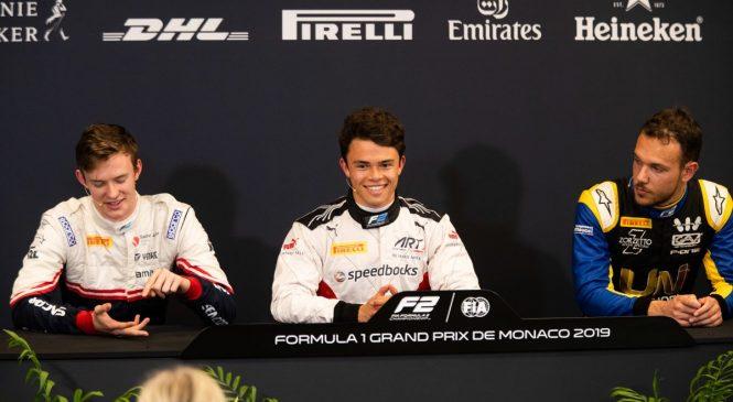 Ник де Врис: Я знал, что все получится. Пресс-конференция по итогам квалификации «Формулы-2» в Монако