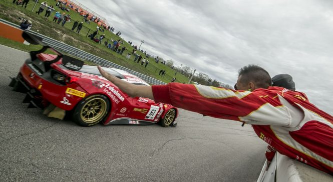 Действующие чемпионы Виландер и Молина одержали вторую победу в сезоне американской серии «Бланпен ГТ»