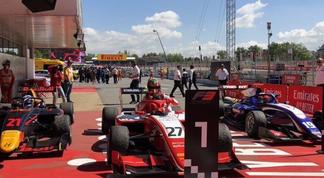 Дарувала выиграл вторую гонку Ф3 в Испании, Шварцман — четвёртый