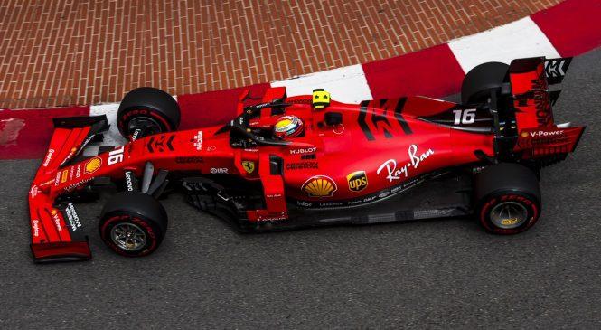 Леклер стал быстрейшим в третьей тренировке в Монако, Квят — 7-й, Феттель разбил машину