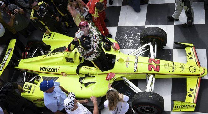 Пажно сделал дубль, выиграв вторую гонку в Индианаполисе в мае