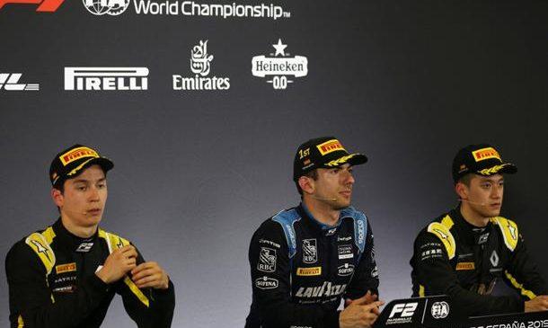 Латифи: Ключ к успеху — стабильность. Пресс-конференция по итогам первой гонки «Формулы-2» в Испании