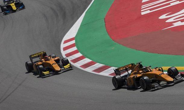 Эйткен и Бокколаччи оштрафованы по итогам квалификации «Формулы-2» в Испании
