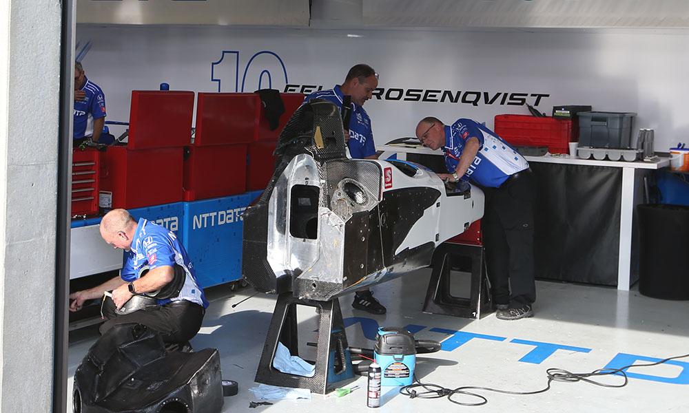 """Механики """"Ганасси"""" восстанавливают автомобиль Розенквиста"""