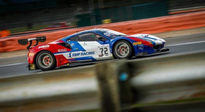 «СМП Рэйсинг» выиграли драматичный 2-й этап серии гонок на выносливость «Бланпен ГТ» в Силверстоуне