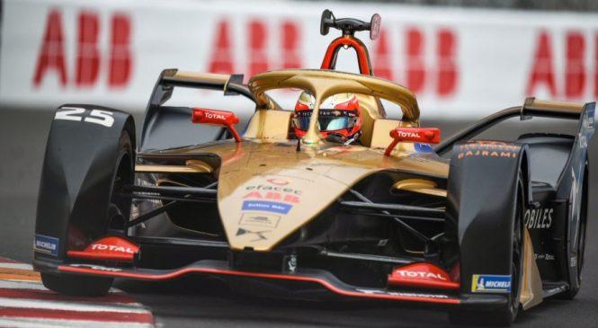 Роуленд выиграл квалификацию в Монако, но с поула будет стартовать Вернь
