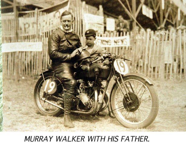 Марри Уокер с отцом
