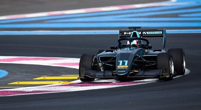 Хьюз принёс ХВА первый поул в истории в Ф3, Шварцман стартует во Франции третьим