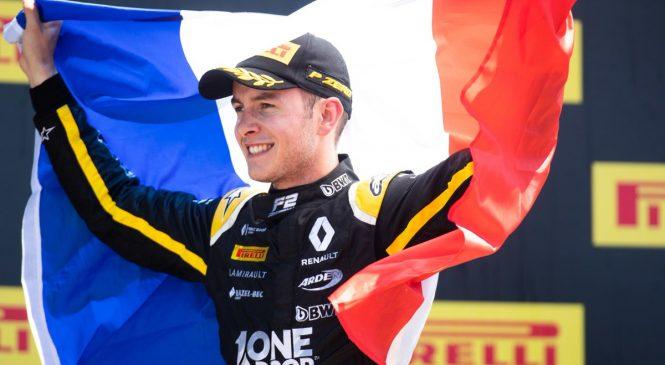 Юбер одержал победу во второй гонке «Формулы-2» во Франции, Мазепин — 16-й