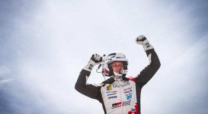 Отт Тянак одержал победу в Ралли Португалии, Грязин 13-й