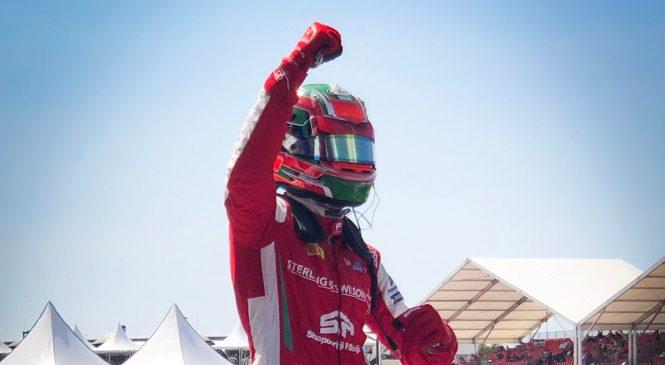 Дарувала одержал вторую победу подряд в Ф3, Шварцман финишировал вторым
