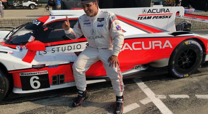 Монтойя выиграл поул гонки ИМСА в Детройте