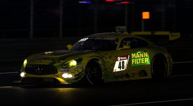 Марчелло из «Мерседес-АМГ» стал быстрейшим в первой квалификации «24 часов Нюрбургринга»