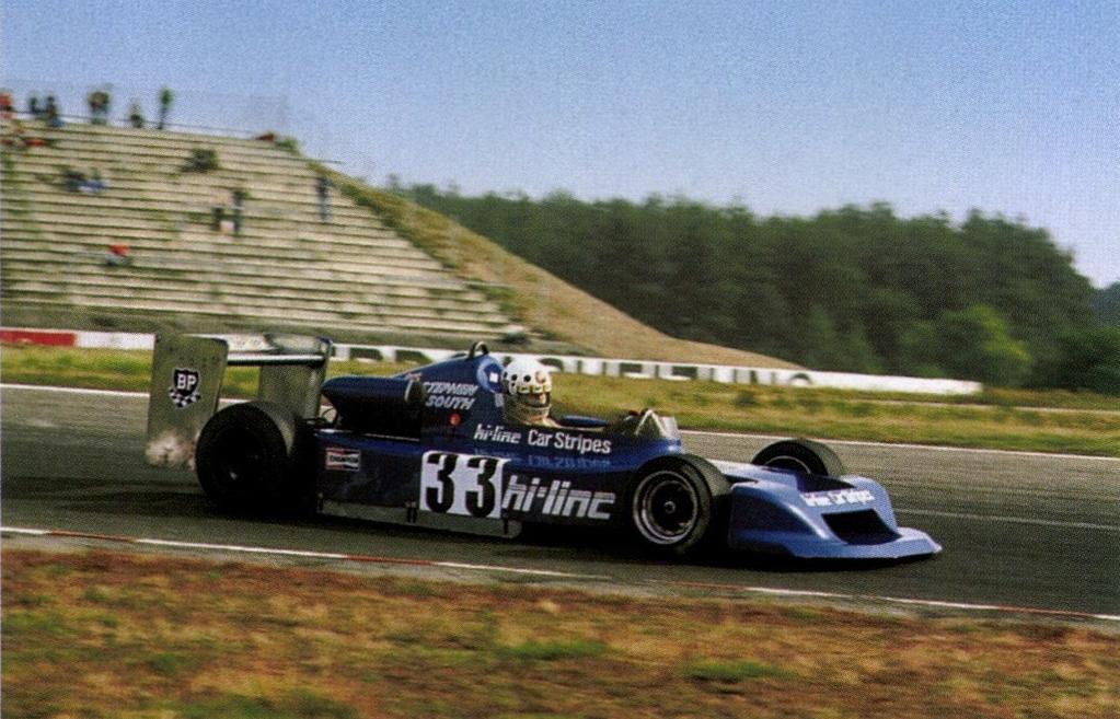 Стивен Саус в гонке Ф2 в 1978-м