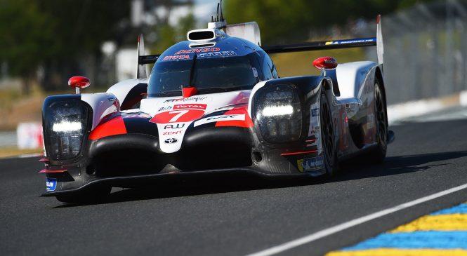 «Тойоты» существенно быстрее всех на тестах перед «24 часами Ле-Мана»