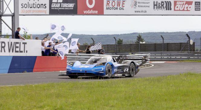 Рекордный круг Нордшляйфе для электромобилей от спорткара «Фольксваген»