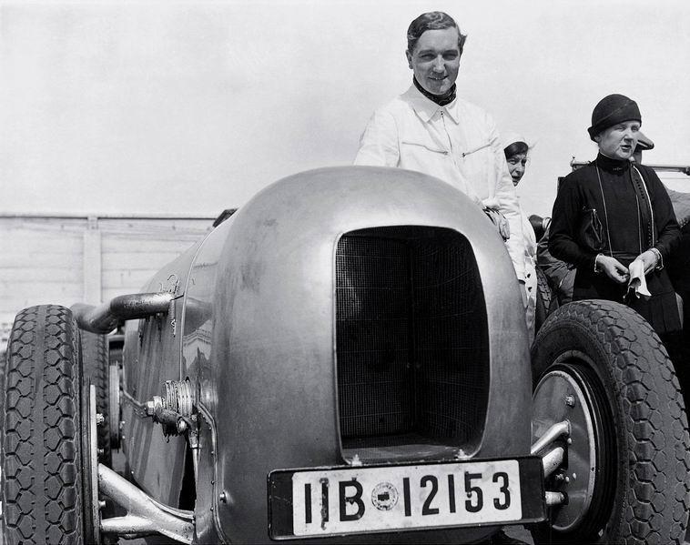 Манфред фон Браухич на АФУСе в 1932 году