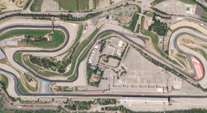 Как выглядит трасса Барселоны из кокпита спортпрототипа