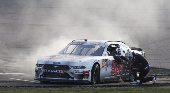 Чейз Бриско победил в гонке серии «Иксфинити» в Айове