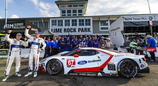 «Форд» в Лайм-Роке прервал победную серию «Порше»