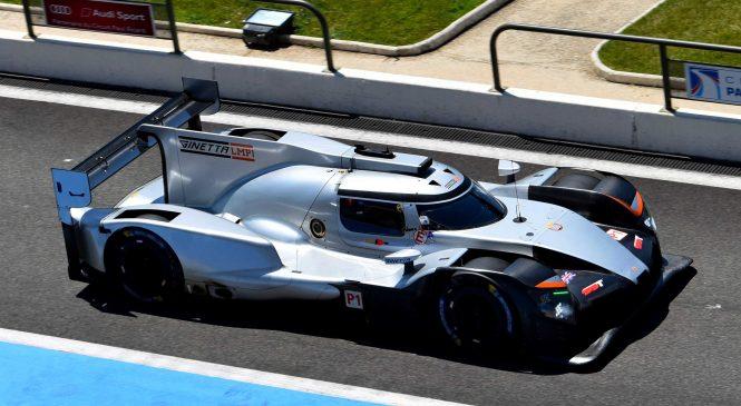 «Джинетта» успешно провела тесты автомобиля ЛМП1 в Ле-Кастелле