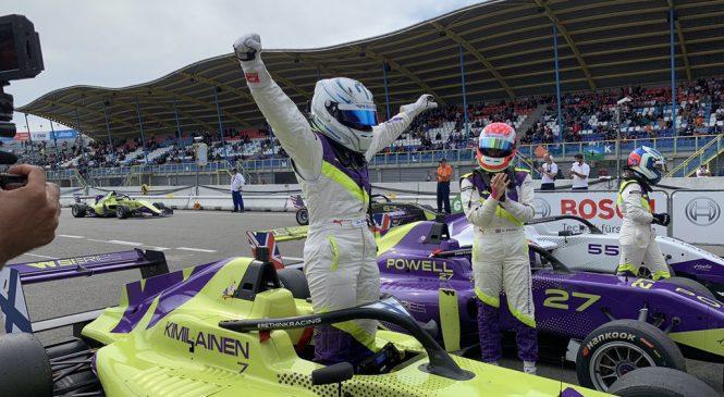 Кимиляйнен выиграла гонку «Женской формулы» в Ассене