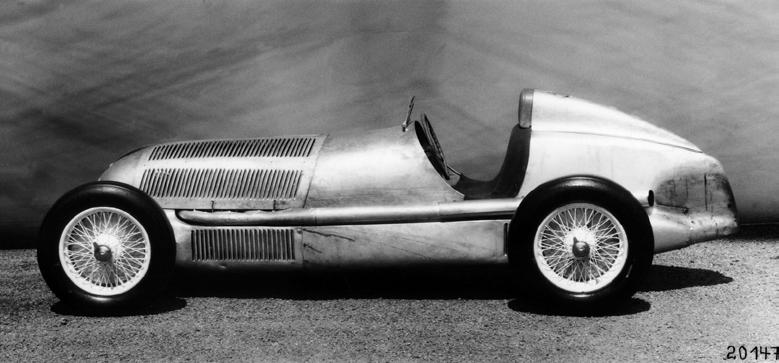 """Пресс-фотография """"Мерседес"""" 1934 года"""