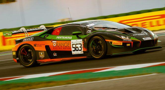 «ФФФ Рэйсинг Ламборгини» одержала свою дебютную победу в европейской серии «Бланпен ГТ» в Мизано