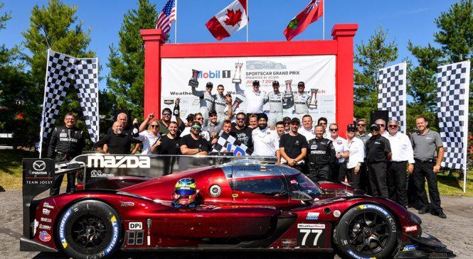 «Мазда Йост» добилась второго подряд победного дубля на этапе ИМСА в Канаде