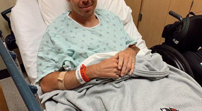 Роберт Уикенз перенёс внеплановую операцию