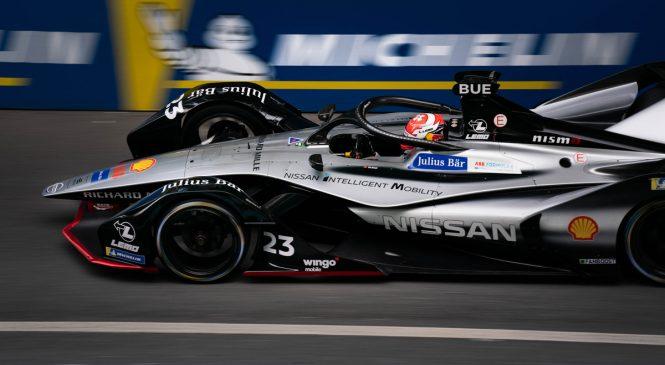 Буэми принёс «Ниссану» первую победу в «Формуле-Е»