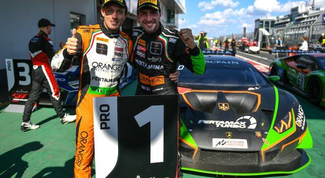 Мапелли и Кальдарелли — новые лидеры сезона европейской серии «Бланпен ГТ»