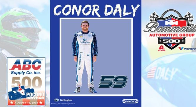 Дэйли примет участие в трёх из оставшихся четырёх гонок сезона «Индикара»