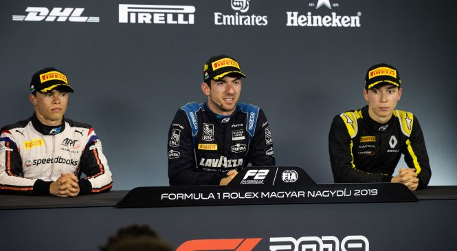 Латифи: Я рад, что все закончилось за машиной безопасности. Пресс-конференция по итогам первой гонки «Формулы-2» в Венгрии