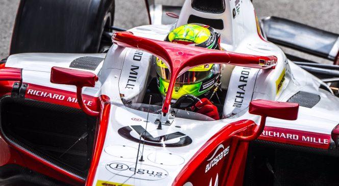 Шумахер одержал первую победу в «Формуле-2»!