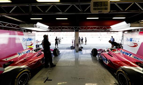 Юбер и Кальдерон исключены из протоколов квалификации «Формулы-2» в Венгрии