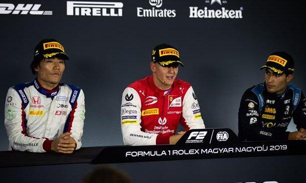 Мик Шумахер: Я рад преодолеть период неудач. Пресс-конференция по итогам второй гонки «Формулы-2» в Венгрии
