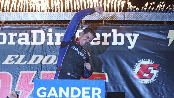 Стюарт Фризен одержал первую победу в гонке дивизиона пикапов на грунте «Элдора Спидвей»